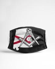 Alabama Freemasons Cloth face mask aos-face-mask-lifestyle-22