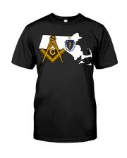 Massachusetts Freemasons Classic T-Shirt front