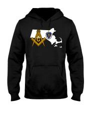 Massachusetts Freemasons Hooded Sweatshirt tile