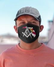 Florida Freemasons Cloth face mask aos-face-mask-lifestyle-06