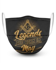 Legends Are Born In May Masks tile