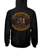 Ask Seek Knock Hooded Sweatshirt tile