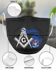 Michigan Freemasons 3 Layer Face Mask - Single aos-face-mask-3-layers-lifestyle-front-49