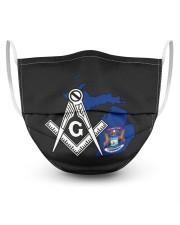 Michigan Freemasons 3 Layer Face Mask - Single front