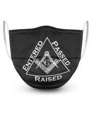 Enter Pass Raise 3 Layer Face Mask - Single front
