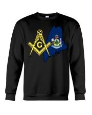 Maine Freemasons Crewneck Sweatshirt tile
