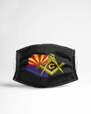 Arizona Freemasons Cloth face mask aos-face-mask-lifestyle-22