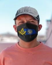 Nebraska Freemasons Cloth face mask aos-face-mask-lifestyle-06