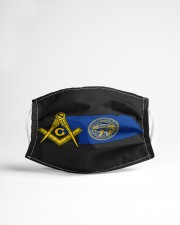 Nebraska Freemasons Cloth face mask aos-face-mask-lifestyle-22