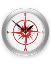 Freemasonry Compass Wall Clock front