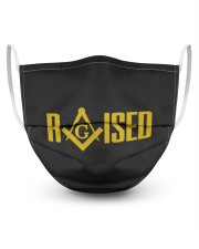 RAISED 3 Layer Face Mask - Single front