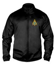 Masonic Embroidered Emblem Lightweight Jacket front