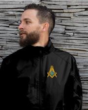 Masonic Embroidered Emblem Lightweight Jacket garment-embroidery-jacket-lifestyle-06