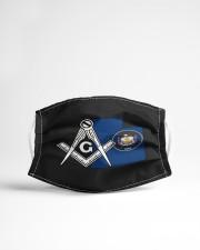 Utah Freemasons Cloth face mask aos-face-mask-lifestyle-22