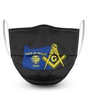Oregon Freemasons 3 Layer Face Mask - Single front