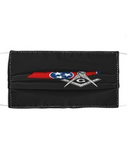 Tennessee Freemasons Cloth face mask front