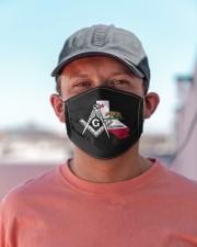 California Freemasons Cloth face mask aos-face-mask-lifestyle-06