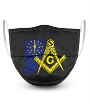 Indiana Freemasons 3 Layer Face Mask - Single front