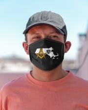 Massachusetts Freemasons Cloth face mask aos-face-mask-lifestyle-06