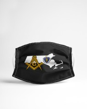 Massachusetts Freemasons Cloth face mask aos-face-mask-lifestyle-22