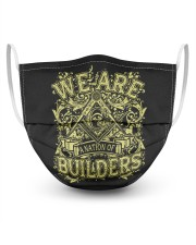 We Are A Nation Of Builders Masks tile