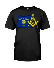 Oregon Freemasons Classic T-Shirt front