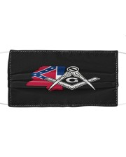 Mississippi Freemasons Cloth face mask front