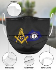 Kentucky Freemasons 3 Layer Face Mask - Single aos-face-mask-3-layers-lifestyle-front-49