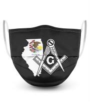 Illinois Freemasons 3 Layer Face Mask - Single front