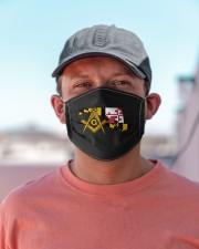 Maryland Freemasons Cloth face mask aos-face-mask-lifestyle-06