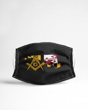 Maryland Freemasons Cloth face mask aos-face-mask-lifestyle-22