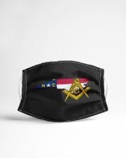 North Carolina Freemasons Cloth face mask aos-face-mask-lifestyle-22