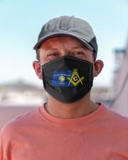 Oregon Freemasons Cloth face mask aos-face-mask-lifestyle-06