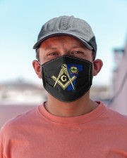 Vermont Freemasons Cloth face mask aos-face-mask-lifestyle-06