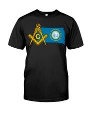 South-Dakota Freemasons Classic T-Shirt front