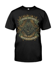 I Took An Oath It Has No Expiration Date Classic T-Shirt front