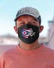 Ohio Freemasons Cloth face mask aos-face-mask-lifestyle-06