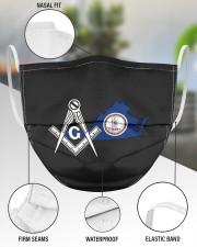 Virginia Freemasons 3 Layer Face Mask - Single aos-face-mask-3-layers-lifestyle-front-49