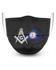 Virginia Freemasons 3 Layer Face Mask - Single front