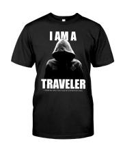 I Am A Traveler Classic T-Shirt front
