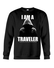 I Am A Traveler Crewneck Sweatshirt tile