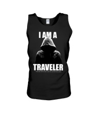 I Am A Traveler Unisex Tank tile
