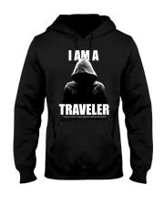 I Am A Traveler Hooded Sweatshirt tile