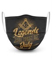 Legends Are Born In July Masks tile