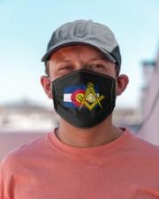 Colorado Freemasons Cloth face mask aos-face-mask-lifestyle-06