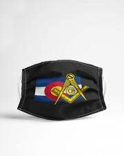 Colorado Freemasons Cloth face mask aos-face-mask-lifestyle-22