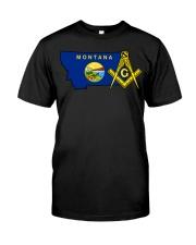 Montana Freemasons Classic T-Shirt front
