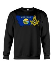 Montana Freemasons Crewneck Sweatshirt tile