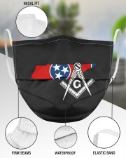 Tennessee Freemasons 3 Layer Face Mask - Single aos-face-mask-3-layers-lifestyle-front-49