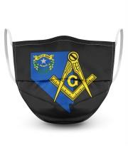 Nevada Freemasons 3 Layer Face Mask - Single front